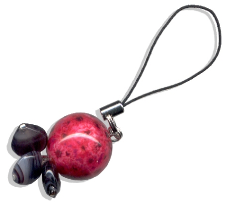 Win this Funky Cell Phone charm!