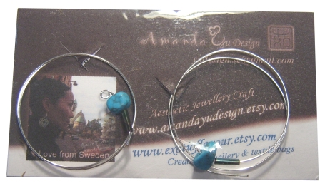 Earrings from Amanda Yu Design