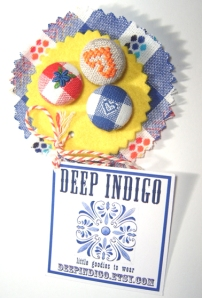 Embellishment from Deep Indigo