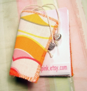 Tiny motebook by Pale Pink