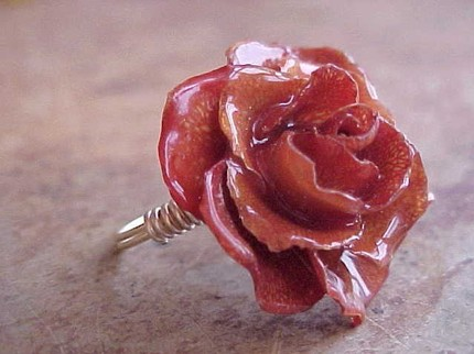 Rose Ring by BabyWhiteElephant