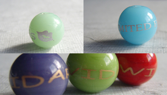 Logo beads - their beauty is deceptive