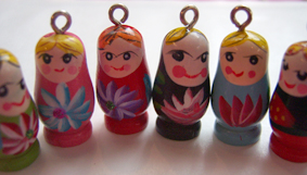 Matrioshka charms